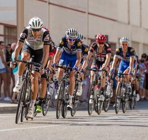 Cropped image of Bike Race