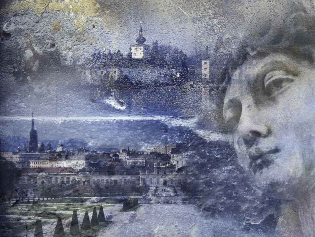 A Photoshop collage, several images blended together in an attractive way.
