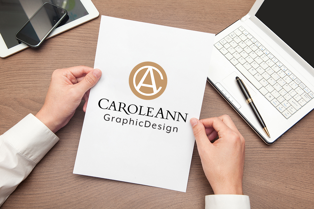 CaroleAnn Graphic Design Logo Featured Image